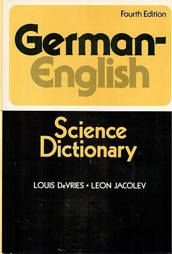 German-English science dictionary