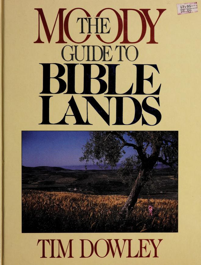 Maps of Bible lands by Tim Dowley