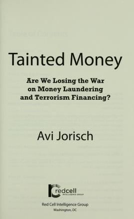Cover of: Tainted money | Avi Jorisch